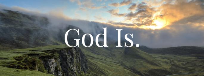 God is Header